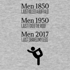 Men these days - Men's V-Neck T-Shirt by Canvas
