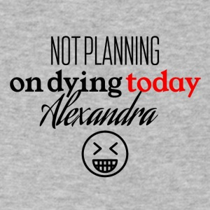 Not planning - Men's V-Neck T-Shirt by Canvas