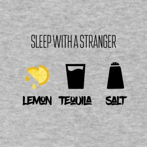 Sleep with a stranger tutorial - Men's V-Neck T-Shirt by Canvas