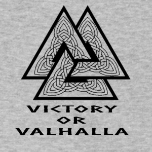 Victory or Valhalla - Men's V-Neck T-Shirt by Canvas