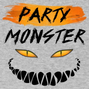Party Monster - Men's V-Neck T-Shirt by Canvas