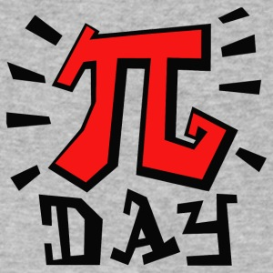 Pi day - Men's V-Neck T-Shirt by Canvas