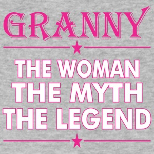 Granny The Woman The Myth The Legend - Men's V-Neck T-Shirt by Canvas