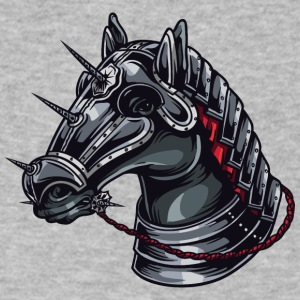 kNIGHT HORSE - Men's V-Neck T-Shirt by Canvas