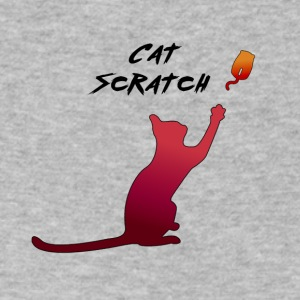 Cat Sratch Fever - Men's V-Neck T-Shirt by Canvas