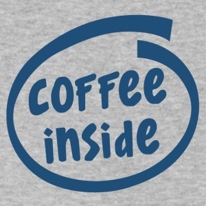 1829C coffee inside - Men's V-Neck T-Shirt by Canvas