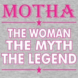 Motha The Woman The Myth The Legend - Men's V-Neck T-Shirt by Canvas