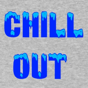 chill out - Men's V-Neck T-Shirt by Canvas