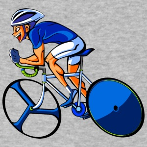 anime velo sport - Men's V-Neck T-Shirt by Canvas
