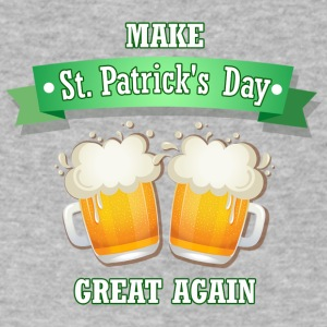 Make St. Patrick's Day Great Again - Men's V-Neck T-Shirt by Canvas