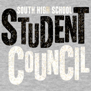 South High School - Men's V-Neck T-Shirt by Canvas