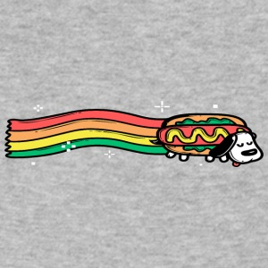Yay Hotdog - Men's V-Neck T-Shirt by Canvas