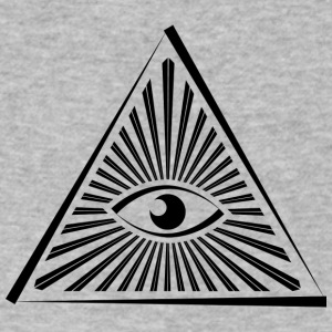 Illuminati - Men's V-Neck T-Shirt by Canvas