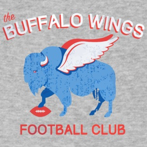 Buffalo Wings - Men's V-Neck T-Shirt by Canvas