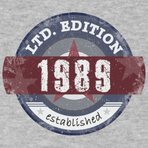 Limited Edition1989 - Men's V-Neck T-Shirt by Canvas