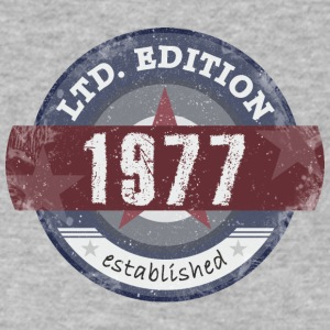 Limited Edition 1977 - Men's V-Neck T-Shirt by Canvas