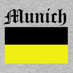 munich design - Men's V-Neck T-Shirt by Canvas