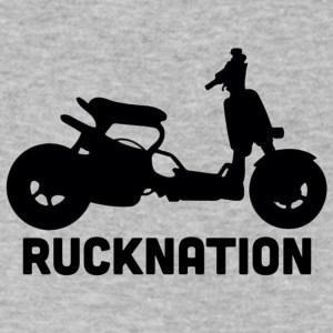 Ruckus rucknation - Men's V-Neck T-Shirt by Canvas