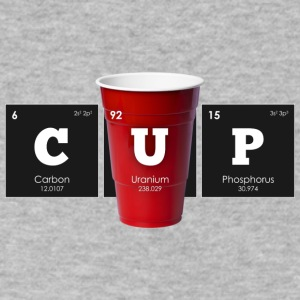 Periodic Elements: CUP - Men's V-Neck T-Shirt by Canvas