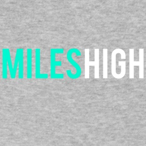 MILES HIGH #1 - Men's V-Neck T-Shirt by Canvas