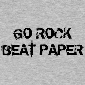Go Rock Beat Paper Remix - Men's V-Neck T-Shirt by Canvas