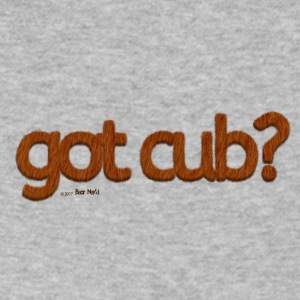got cub?-Furry Fun-Gay Bear Pride-Kodiak Bear - Men's V-Neck T-Shirt by Canvas