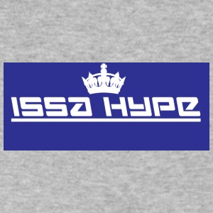 issahype_blue - Men's V-Neck T-Shirt by Canvas