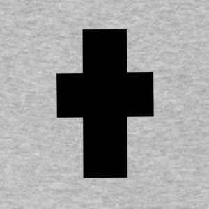 cross 2 - Men's V-Neck T-Shirt by Canvas