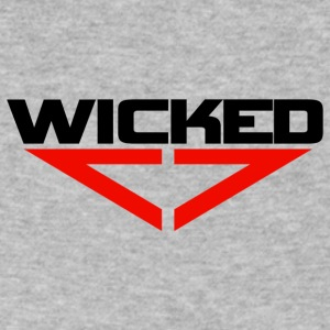 Wicked red - Men's V-Neck T-Shirt by Canvas