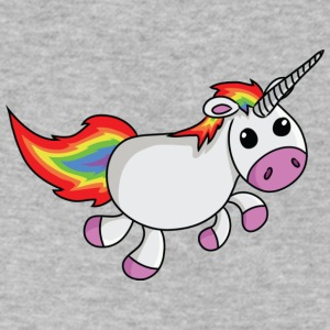 Baby Unicorn - Men's V-Neck T-Shirt by Canvas