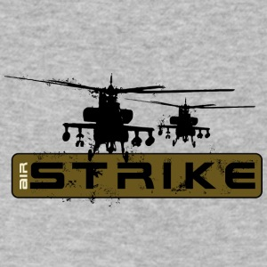 Air strike helicopters - Men's V-Neck T-Shirt by Canvas