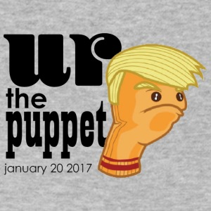 Trump Puppet Inauguration - Men's V-Neck T-Shirt by Canvas