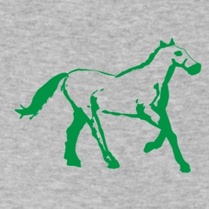 Horse - Men's V-Neck T-Shirt by Canvas