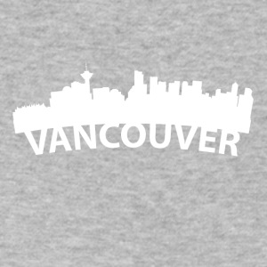 Arc Skyline Of Vancouver British Columbia Canada - Men's V-Neck T-Shirt by Canvas