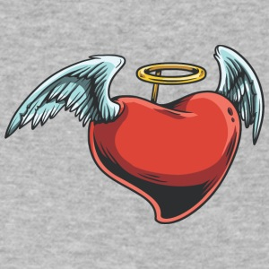 angel_heart - Men's V-Neck T-Shirt by Canvas
