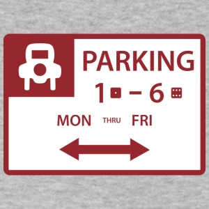 Free Parking - Men's V-Neck T-Shirt by Canvas