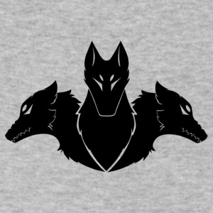Cerberus (BLACK) - Men's V-Neck T-Shirt by Canvas