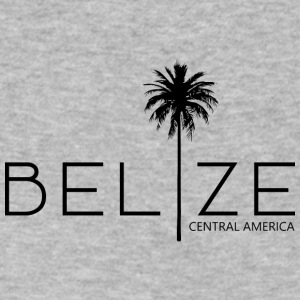 Belize Palm - Men's V-Neck T-Shirt by Canvas