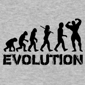 GYM EVOLUTION - Men's V-Neck T-Shirt by Canvas
