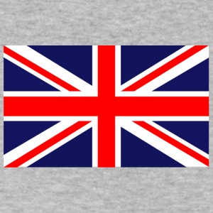 british flag - Men's V-Neck T-Shirt by Canvas