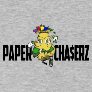 PaperCha$erz Line - Men's V-Neck T-Shirt by Canvas