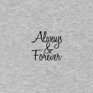 Always & Forever - Men's V-Neck T-Shirt by Canvas
