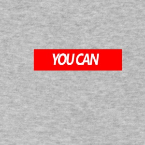 You Can - Men's V-Neck T-Shirt by Canvas