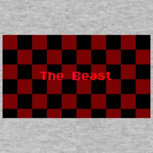 The Beast HOODIE - Men's V-Neck T-Shirt by Canvas