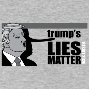 trumps Lies Matter - Men's V-Neck T-Shirt by Canvas
