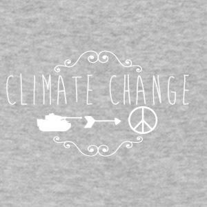 climate change - Men's V-Neck T-Shirt by Canvas