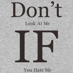 don t look at me - Men's V-Neck T-Shirt by Canvas
