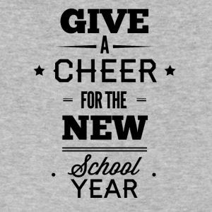 give_a_cheer_for_the_new_school_year-01 - Men's V-Neck T-Shirt by Canvas