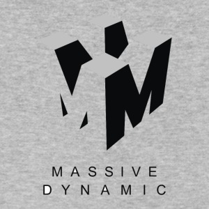 Massive Dynamic - Men's V-Neck T-Shirt by Canvas