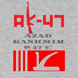 AK47 AZAD KASHMIR 1947 SE - Men's V-Neck T-Shirt by Canvas